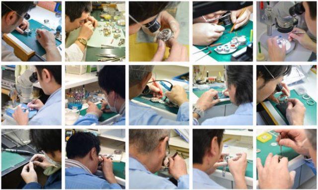 千年堂の時計修理 特徴