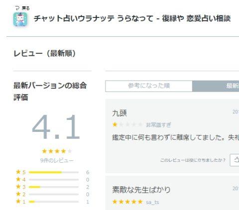 アプリノ 評価