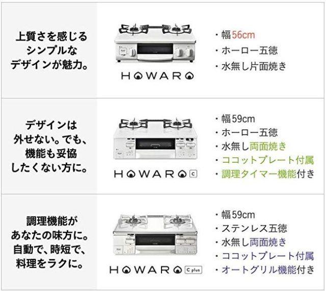 ホワロ HOWARO C Plus