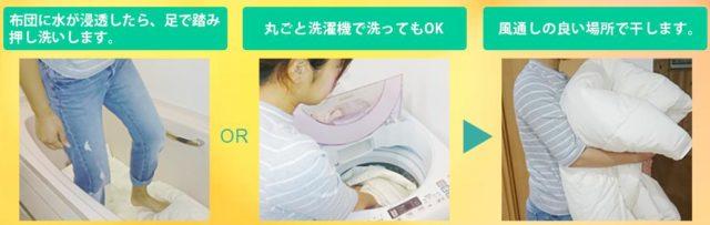 ママウォーム 自宅 洗濯