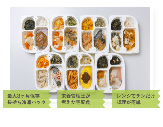 シルバーライフ まごころケア食 特徴