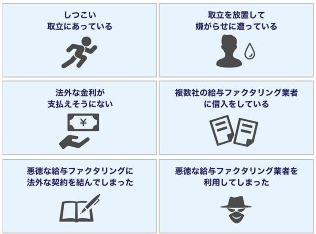 高橋健一法律事務所 給料ファクタリング 特徴