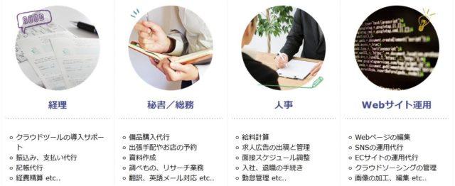 オンラインアシスタント フジ子さん 業務