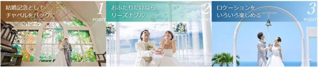 おふたり婚 ainowaフォト 特徴
