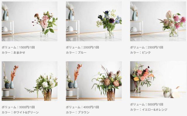 HitoHana ひとはな お花の定期便 料金