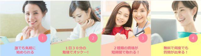 SARAスクールジャパン 通信教育 特徴