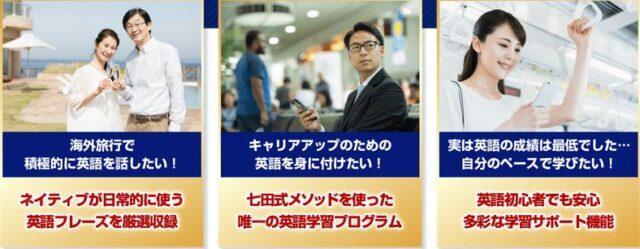 七田式オンライン英会話 7+English Online 特徴